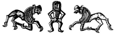 Загадочные пляшущие человечки из клада