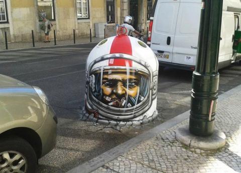 Впечатляющий стрит-арт со всего света
