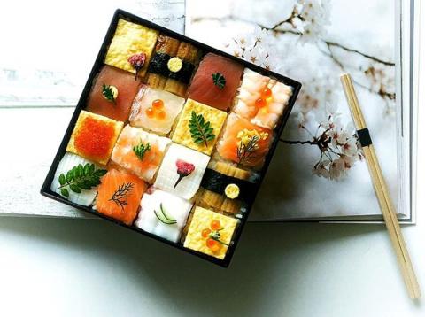 Мозаика из суши — новый кули…