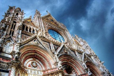 Сиенский собор в Италии