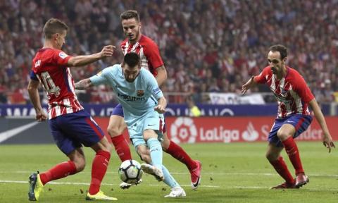 «Атлетико» и «Барселона» под…