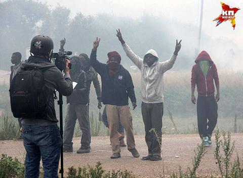 Во Франции создаётся вооружённое сопротивление мигрантам