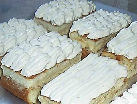 украшение пирожных