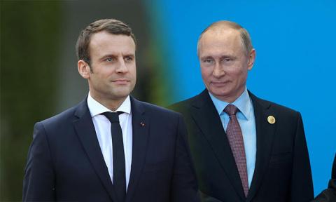 Владимир Путин поможет Макро…