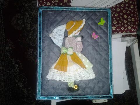 Японский квилт или коробка в стиле пэчворк