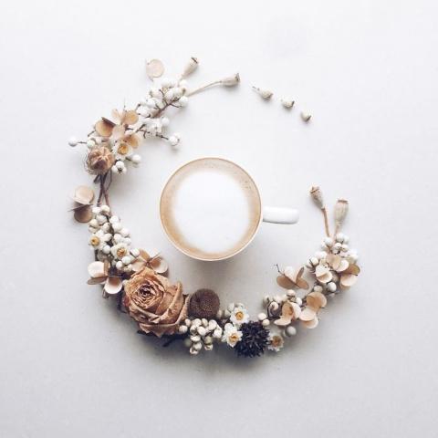 Визуальный кофе-дневник