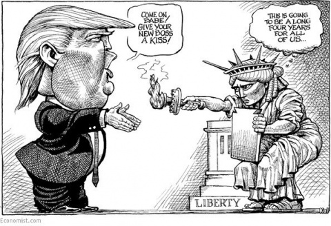 Треш и угар по поводу результатов выборов в США