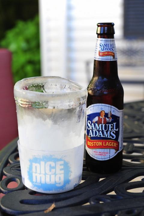 Ледяная кружка для ледяного пива