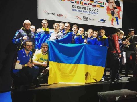 Сборная Украины по MMA завое…