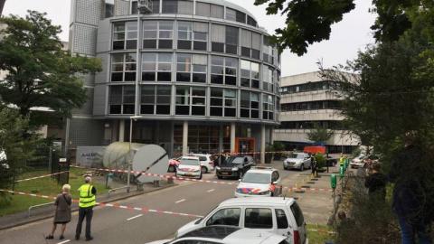 В Нидерландах поймали преступника, который взял в заложники здание радиостанции