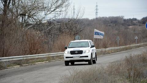 В ОБСЕ рассказали, как попали под обстрел ВСУ в ЛНР