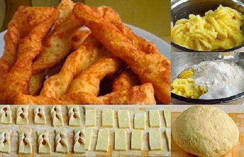 Картофельный хворост — идеальный гарнир к мясу или рыбе!