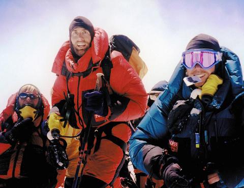 Слепой, который поднялся на Эверест