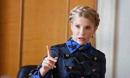 Юлия Тимошенко заявилась в Р…