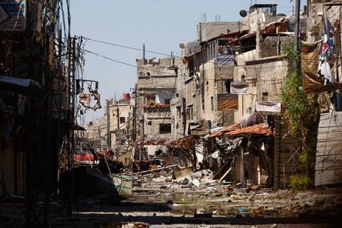 Новости Сирии: Террористы обстреляли Дамаск