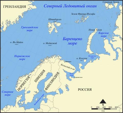 Ученые: Баренцево море скоро…