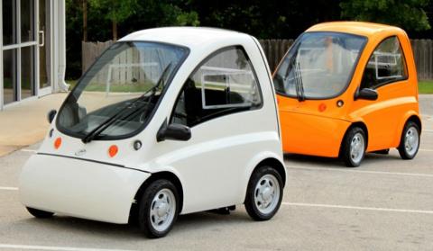 Эта машина похожа на игрушеч…