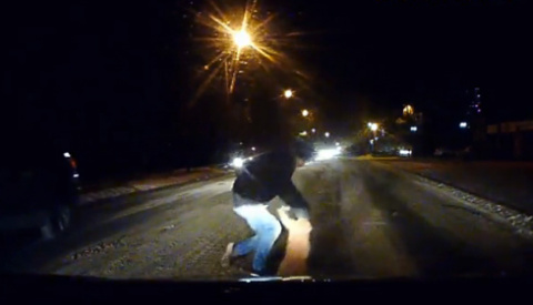 Таганрогский водитель спас от верной смерти сбитого кота