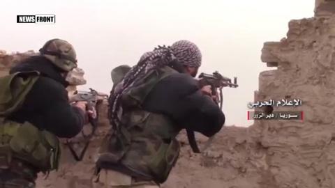 Армия Сирии взяла под контроль комплекс зданий в Джобаре