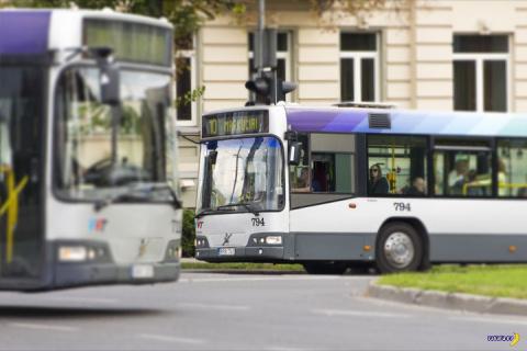 Украинец бомбил на автобусе в Вильнюсе