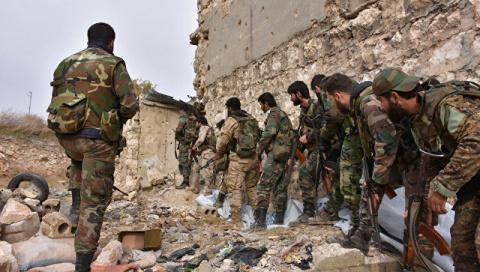 Сирийская армия приостановил…