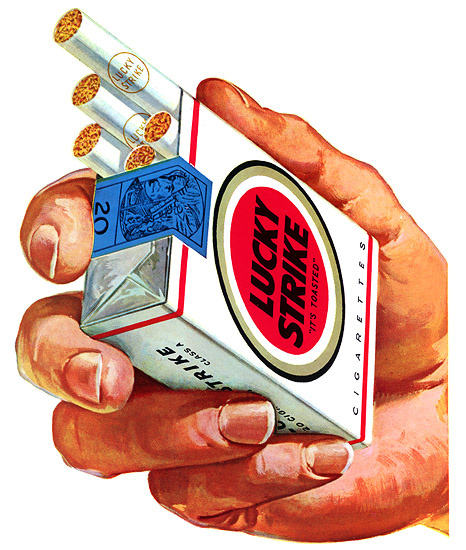 В России возродят табачный бренд Lucky Strike