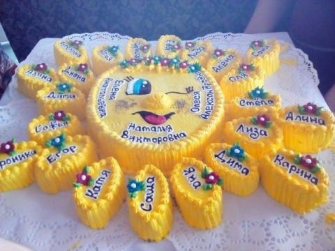 Тортик в садик. Хорошая идея