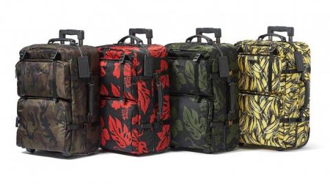 Модный дом Prada создал чемоданы с яркими принтами