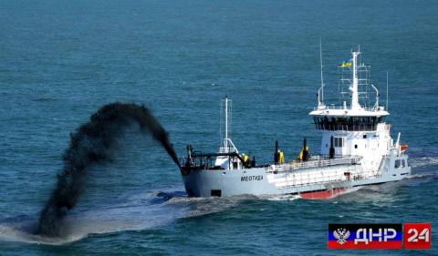 Власти Украины собрались копать Азовское море