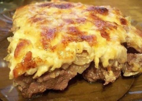 Мясо по этому рецепту сметается с тарелок за 5 минут! Быстро, просто и сытно