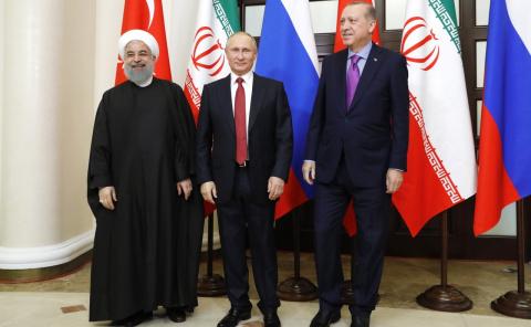 Встреча с Президентом Ирана …