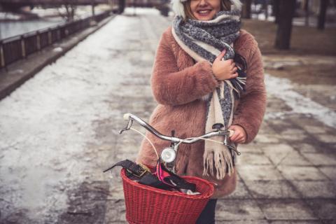 Модный тренд: шуба из «чебурашки»