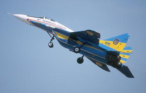 Украина обвинила Россию в попытке угнать военный самолет