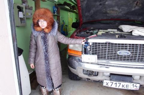 Девочка-вундеркинд из Якутии решила зимнюю проблему автомобилистов