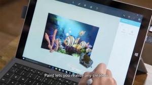 Обновленное приложение Paint…