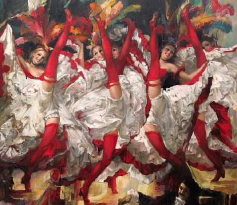 Канкан – «утиный» танец, ставший визитной карточкой всех кабаре