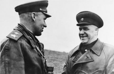 Маршал Рокоссовский: немцы б…