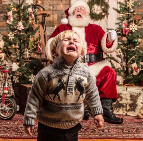 Этот страшный и ужасный Дедушка Мороз