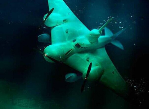 Проект летающей подводной ло…