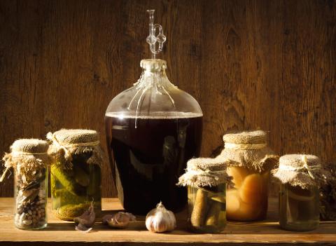 Как cделать вино из овощей?