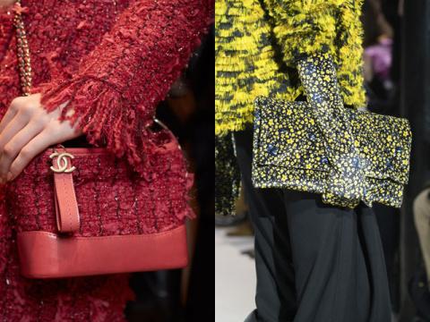 Неожиданный модный тандем холодного сезона 2017-2018 — сумки в тон одежде
