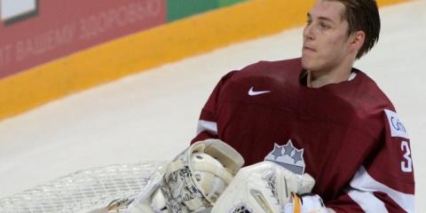 Вратарь сборной Латвии извинился за слова о России