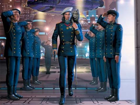 Капитан из «звездной пехоты»