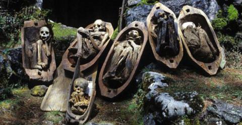 Копченые предки: удивительны…