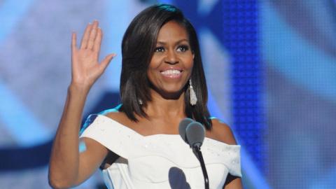 Гримаса Мишель Обамы на инаугурации Трампа вызвала насмешку в соцсетях