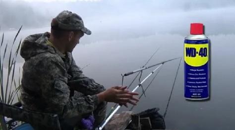 ЭТО реально ловит! карась на WD-40 Вот это КЛЁВ! Рыбалка на поплавочную удочку карася на манку