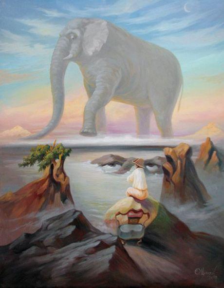 Картины Олега Щупляка