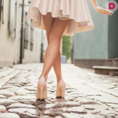 Худые ноги: как подбирать одежду?