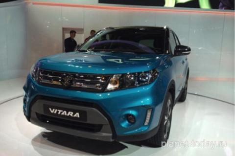 Серийное производство кроссовера Suzuki Vitara стартует в 2015 году