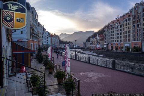 Города-призраки в Сочи. Три года после Олимпиады